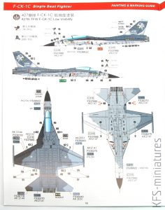 """1/48 ROCAF F-CK-1C """"Ching-kuo"""" Single Seat - Freedom Model Kits"""
