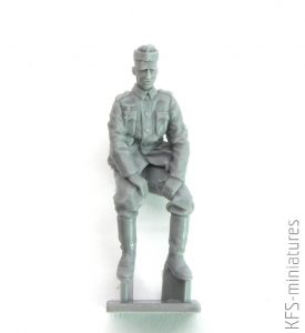 1/35 WWII German Soldiers at Rest