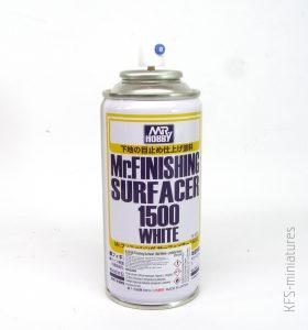 Mr.Finishing Surfacer 1500 White - Mr. Hobby