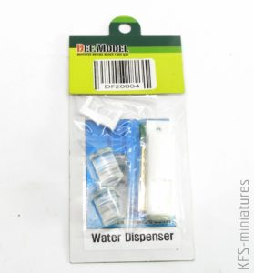 1/20 Water Dispenser with bottle (2 Bottles) - Def.Model
