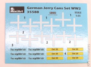 1/35 German Jerry Can Set - MiniArt