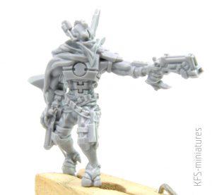 28mm Greater Good Deep Strike Veteran Ranger Gunslinger - Grim Skull