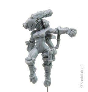 28mm Greater Good Spectre Assassin - Grim Skull
