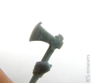 70mm Slavic Warrior - Valkiria Miniatures