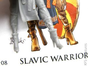 70mm Slavic Warrior - Valkiria Miniatures