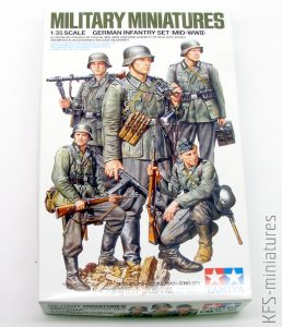 1/35 German Infantry Set (Mid-WWII) - Tamiya