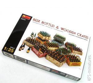 1/35 Beer bottles & Wooden Crates - MiniArt