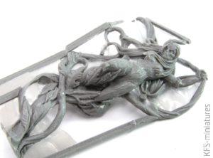 28mm Elves Wood Elf Sorceress - Scibor Monstrous Miniatures
