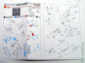 1/72 MiG-21PFM - Dodatki - Eduard