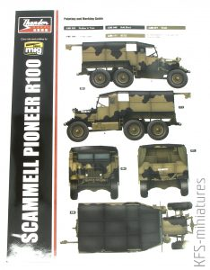 1/35 British Scammell Pioneer R100 - Thunder Model