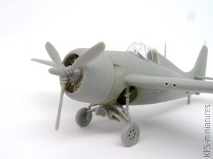 1/72 FM-2 Wildcat - Arma Hobby - Budowa