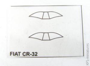 """1/72 Fiat CR-32 Chirri """"Over Spain"""" - AZ model"""