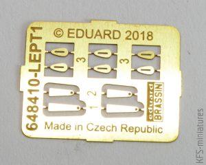 1/48 Bf 109G tropical filter - Eduard