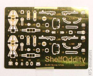 1/144 Ki-51 Sonia - Detail Set - Shelf Oddity