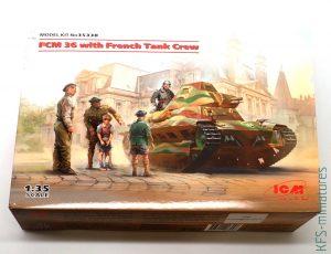 1/35 FCM 36 with Crew - ICM