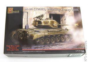 1/72 M-26 (T26E3) Pershing Heavy Tank - Pegasus Hobbies