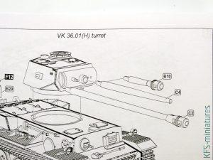 1/72 VK 36.01(H) Heavy Tank - Armory