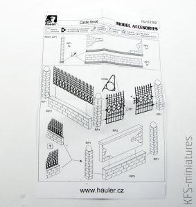 1/72 Castle fence - Hauler