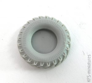 1/72 Ural-375/4320 weighted wheels - Armory