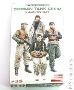 1/35 German Tank Crew (Kharkov 1943) - MiniArt