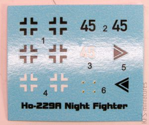 1/144 Horten Ho-229 Night Fighter - Brengun