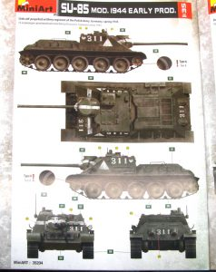 1/35 SU-85 Mod. 1944 - Interior Kit - MiniArt