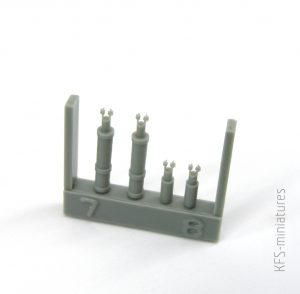 1/35 Workable suspension for T-18 - Taurus Models