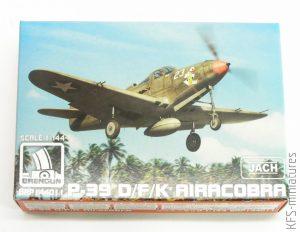 1/144 P-39 D/F/K Airacobra - Brengun