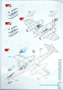 1/72 Gloster Meteor F.8 Prone Pilot - Special Hobby