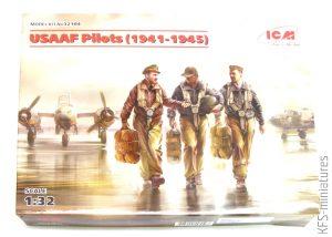 1/32 USAAF Pilots - ICM