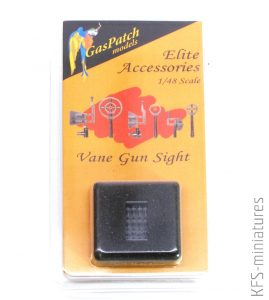 1/48 Vane Gun Sights - GasPatch models