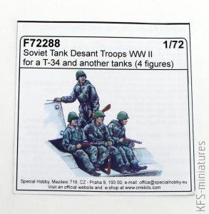 1/72 Soviet Tank Desant Troops WW II - CMK