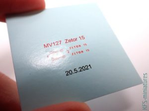 1/72 Zetor 15 - Planet Models