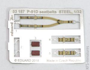 1/32 North American P-51D-5 - Löök - Eduard