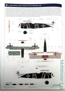 1/72 Fokker D.VII (OAW) - Weekend - Eduard