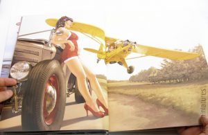 Pin-Up Wings - Romain Hugault Artbook - Scream Comics