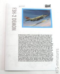 1/72 F3H-2 Demon - Sword