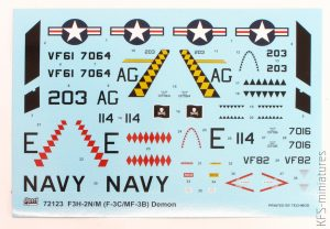 1/72 F3H-2N/M Demon - Sword