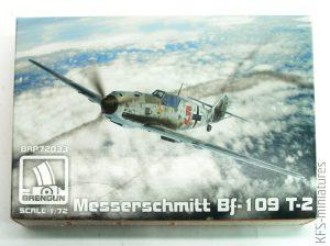1/72 Messerschmitt Bf 109T-2 - Brengun