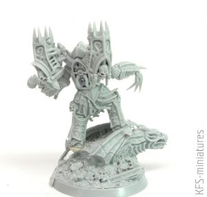 28mm Chaos Lord of the Night - Grim Skull