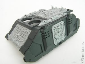 28mm Chaos Egypt Sons Rhino Conversion Set #VB - Grim Skull