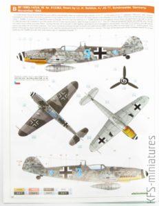 1/48 Bf 109G-14 - Eduard