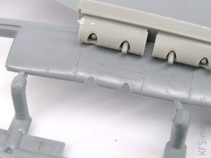 1/32 Hawker Tempest - lufy działek - CMK