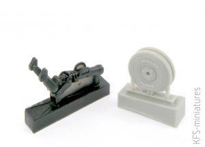 1/32 Tempest/Typhoon Tail wheel - CMK