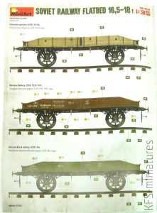 1/35 Soviet Railway Flatbed 16,5-18t - MiniArt