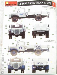 1/35 German Cargo Truck L1500S - MiniArt