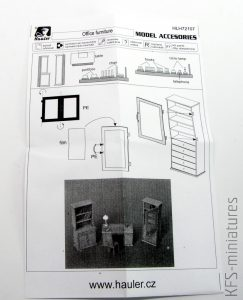 1/72 Office furniture - Hauler