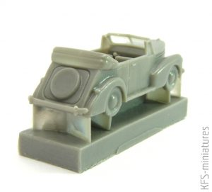 1/144 German Staff Car Cabrio - Brengun