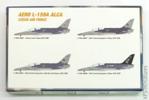 1/144 Aero L-159A Alca Czech Air Force - Miniwing