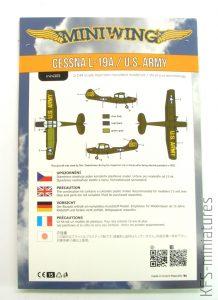 1/144 Cessna L-19A - U.S. Army - Miniwing
